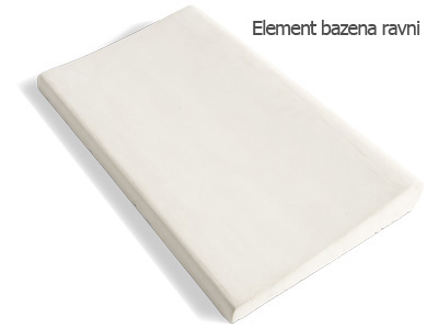 Element bazena ravni dugacki